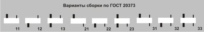 Габаритные и присоединительные размеры А-400