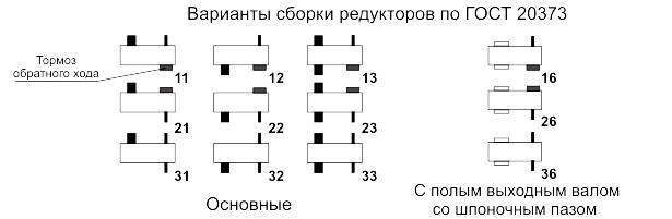 Редукторы серии 7Ц2