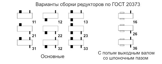 Редукторы серии 7Ц3