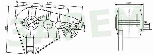 привод Ц6-900