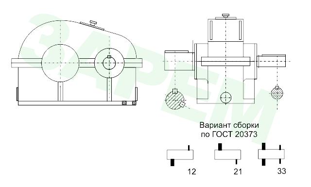 Редуктор Ц-800